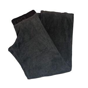 Eckored Women's Tracksuit Bottoms Trousers Joggers Black Size: Small Velvet