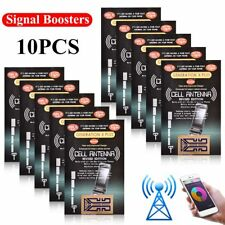 10 Pcs Outdoor Cell Phone Mobile Phone Signal Enhancement Gen X Antenna Booster