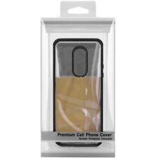 Fundas y carcasas transparente de color principal negro para teléfonos móviles y PDAs LG