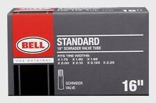 "BELL SPORTS 16"" Universal Schrader Valve Bike Tube Bicycle 1.75""-2.25"" 7015355"