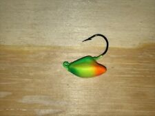 25 pack 3/8 oz Stand up Fishing Jigs - Tri-color with 1/0 Hooks