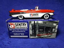 1957 Chevrolet Convertible Hardware Bank 1:25 Die Cast Liberty Classic