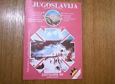 Olympic book - Yugoslavia - Sarajevo 1984