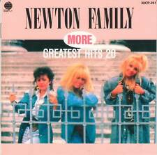 NEWTON FAMILY (Neoton Familia) - MORE GREATEST HITS (1987) Disco CD Jewel+GIFT