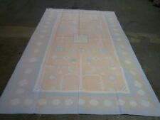 "Handmade Indian Cotton Dhurry oriental carpet ( 8ft8"" x 5ft.8"" )"