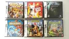 Lot of 6 Nintendo DS Games Zoo Tycoon 2, Arthur, BOLT, Dragons and More