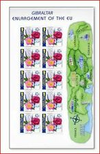 GIB0307ARK Enlargement of the European Union, flowers 4 sheets