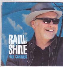 Paul Carrack-Rain Or Shine Promo cd album