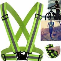 1 Pcs Unisex Outdoor Cycling Safety Protective Vest Bike Bicycle Light Reflectin