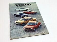 1971 Volvo 142 144 145 164 1800E Brochure