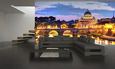 Rome at Night  Wall Mural Photo Wallpaper GIANT DECOR Paper Poster Free Paste