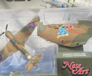 CORGI SHOWCASE NOSE ART Hawker hurricane 71 Eagle Squadron #CS90371
