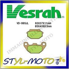 VD-995SJL PASTIGLIE POSTERIORI SINTERIZZATE VESRAH KYMCO MXER 90 MONGOOSE 2009