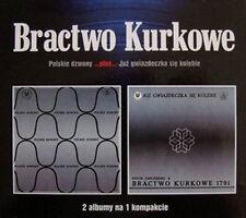 """Bractwo Kurkowe: """"Polskie Dzwony & Juz Gwiazdeczka Sie Kolebie""""  (2 on 1 CD)"""