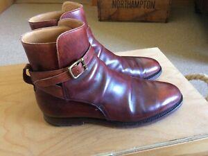 Mens Crockett & Jones Jodhpur boots size UK 8.5