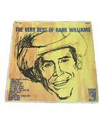 1963 VERY GOOD+ Hank Williams – The Very Best Of Hank Williams SE 4168 LP33