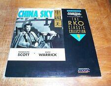 CHINA SKY - FS Laserdisc - RKO Classic
