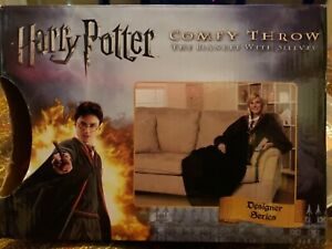 Harry Potter Gryffindor Comfy Throw Hogwarts Snuggie Fleece Blanket w/ sleeves