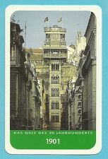 Elevador de Santa Justa Lisbon Portugal Cool Collector Card from Europe