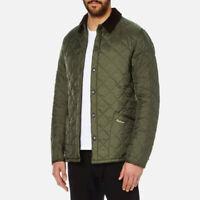 Orıgınal New Barbour Men Olive Color Lıddesdale Jacket SMALL Size
