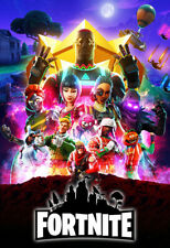 Fortnite Game Infinity War End Game Movie Style Design Poster Art Wallpaper