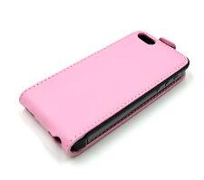 Cenitouch ® Original Rosa Cuero Verdadero Lujo Flip Funda Protectora Para Iphone 5 / 5s