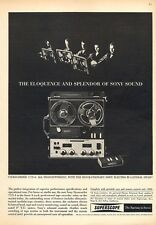 1963 Sony Superscope Reel to Reel Model 777S-4 Orchestra PRINT AD