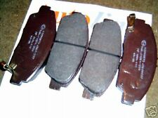 Brake pads, front, Honda Accord, Prelude, 4 pad set for 260mm discs, NH16