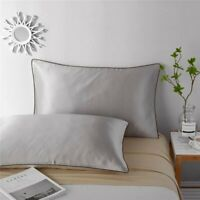 Soft 100% Mulberry Silk Pillow Case Anti Wrinkle Pillowcase Slip Beauty Care AU