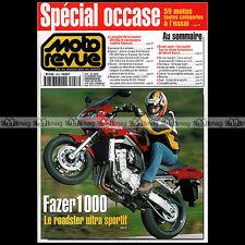 MOTO REVUE N°3458 YAMAHA FZS 1000 FAZER RESTAURATION XS 650 GERARD STARCK 2001