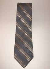 DKNY Striped 100% Silk Tie (K4)
