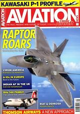 Aviation News Magazine 2015 September Virgin America,A-10,Thomson Airways,F-22A