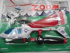 ZOOM COPTER - Flies Over 100 FT. No Batteries Needed!! NIP