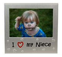 """I Love My Niece Photo Picture Frame Christmas Birthday Present Gift - 5"""" x 3.5"""""""