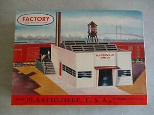 VINTAGE PLASTICVILLE FACTORY 1906 198 BACHMANN O SCALE KIT IN BOX