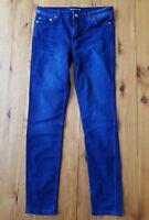BETTINA LIANO Dark Navy Stretch Skinny Jeans Size 10