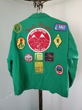Vtg 70s NCHA National Campers Hikers Association Jacket with Patches PUEBLO COLO