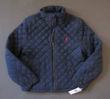 Ralph Lauren Polo Zip Up Quilted Winter Jacket Boys Youth L 14-16 Genuine NWT