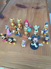 Disney Lot Of 14 Vintage Figures One Is Vintage Germany Bullyland Mickey Mouse