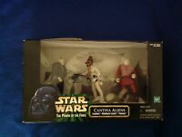 Star Wars The Power of the Force Cantina Aliens 3-Pack Action Figure Set - New!