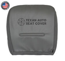 2000 Ford F250 F350 F450 F550 XL Crew Cab Driver Bottom Vinyl Seat Cover Gray
