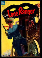 THE LONE RANGER #82 VF+ 8.5 GOLDEN AGE DELL WESTERN ISSUE! (1955)