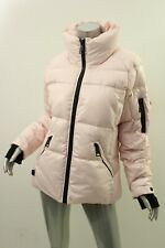 SAM. Pink Freestyle Quilted Short Down Jacket XL $325