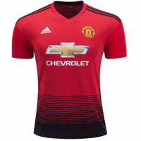 adidas Men's Manchester United 18/19 Home Jersey Red/Black CG0040
