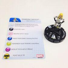 Heroclix Nick Fury, Agent of SHIELD set SHIELD Sharon Carter #003b Common w/card