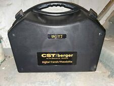 New equipment CST/Berger DGT2 THEODOLITE FOR SURVEYING & CONSTRUCTION