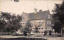 Dodge Center Minnesota~High School~Dutch Stairstep Gable RPPC c1911