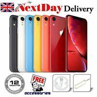 Apple iPhone XR  64GB 128GB Unlocked Network SIM FREE Various Grades & Colour