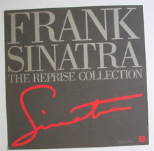 Frank Sinatra Poster 1990 Flat 2-Sided Reprise Collection Promo