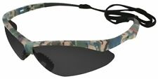 Jackson Nemesis Safety Glasses Camo Frame Smoke Anti-Fog Lens